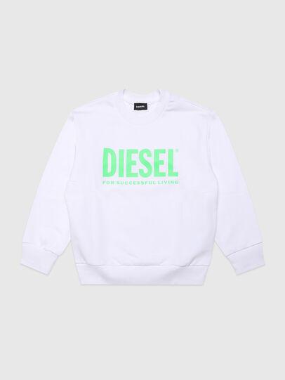 Diesel - SCREWDIVISION-LOGOX, Bianco - Felpe - Image 1