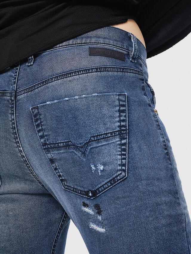 Diesel - Krailey JoggJeans 069HA, Blu medio - Jeans - Image 5
