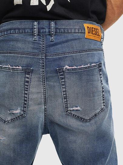 Diesel - D-Vider JoggJeans 069LW, Blu Scuro - Jeans - Image 6