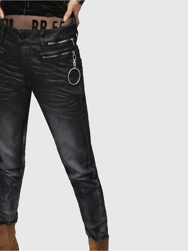 Diesel - D-Eifault JoggJeans 086AZ, Blu Scuro - Jeans - Image 3