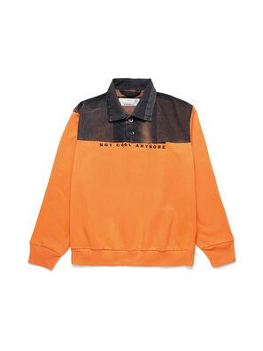 D-BNHILL-S, Arancione - Felpe