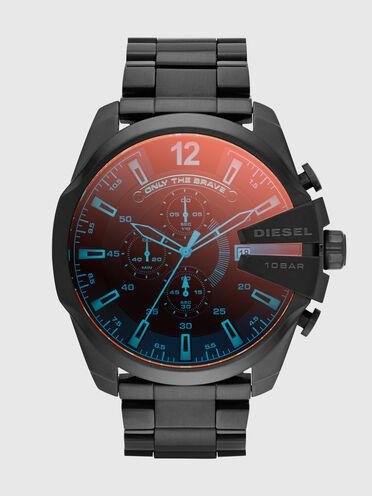 Mega Chief orologio con placcatura grigia