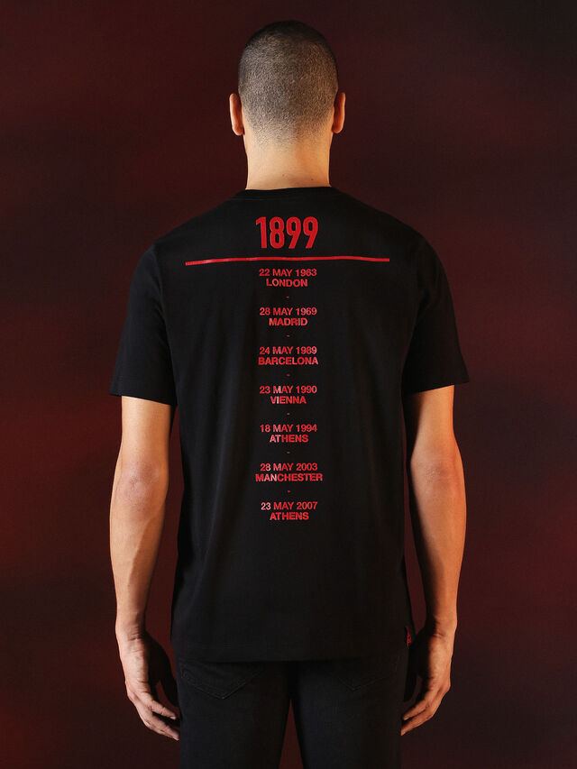 Diesel - DVL-TSHIRT-PRINT-SPECIAL COLLECTION, Nero - T-Shirts - Image 3