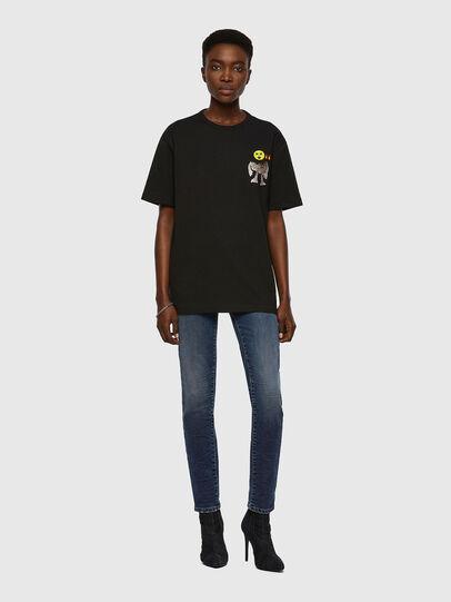 Diesel - T-BOYISH, Nero - T-Shirts - Image 4