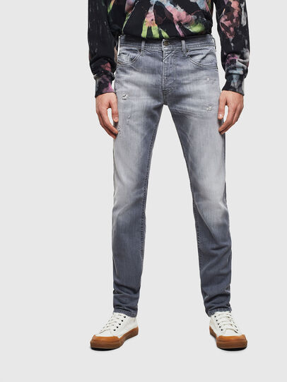 Diesel - Thommer 0095R, Grigio - Jeans - Image 1