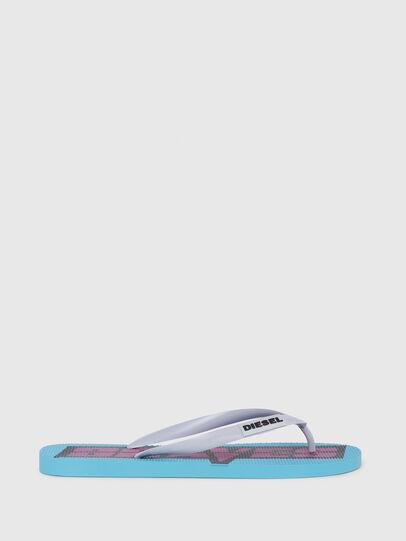 Diesel - SA-BRIIAN, Azzurro - Ciabatte - Image 1