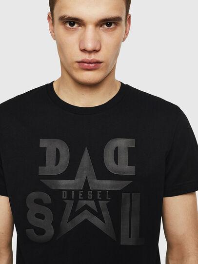 Diesel - T-DIEGO-A8, Nero - T-Shirts - Image 3