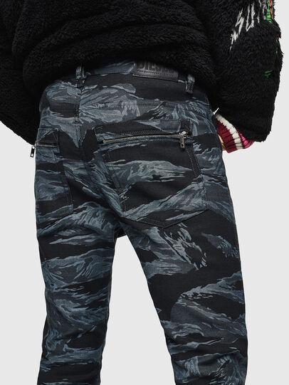 Diesel - D-Amny 0091R, Blu Scuro - Jeans - Image 5