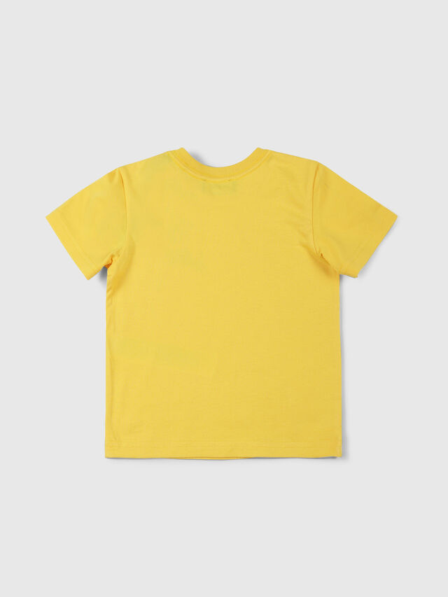Diesel - TUCSEB, Giallo - T-shirts e Tops - Image 2