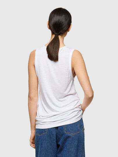 Diesel - T-ANK-A1, Bianco - T-Shirts - Image 2