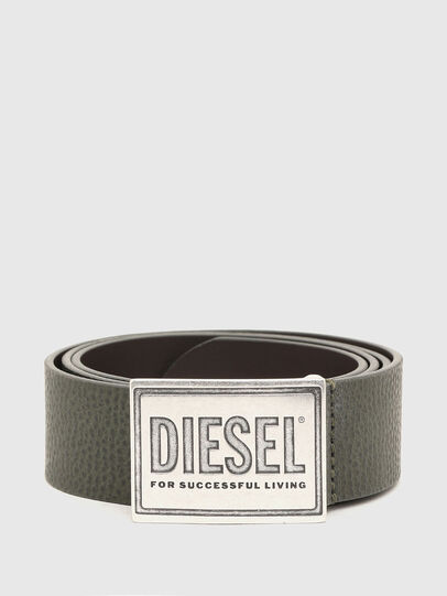 Diesel - B-GRAIN, Marrone - Cinture - Image 1