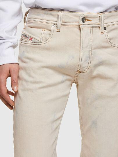 Diesel - Sleenker 009VJ, Bianco - Jeans - Image 3