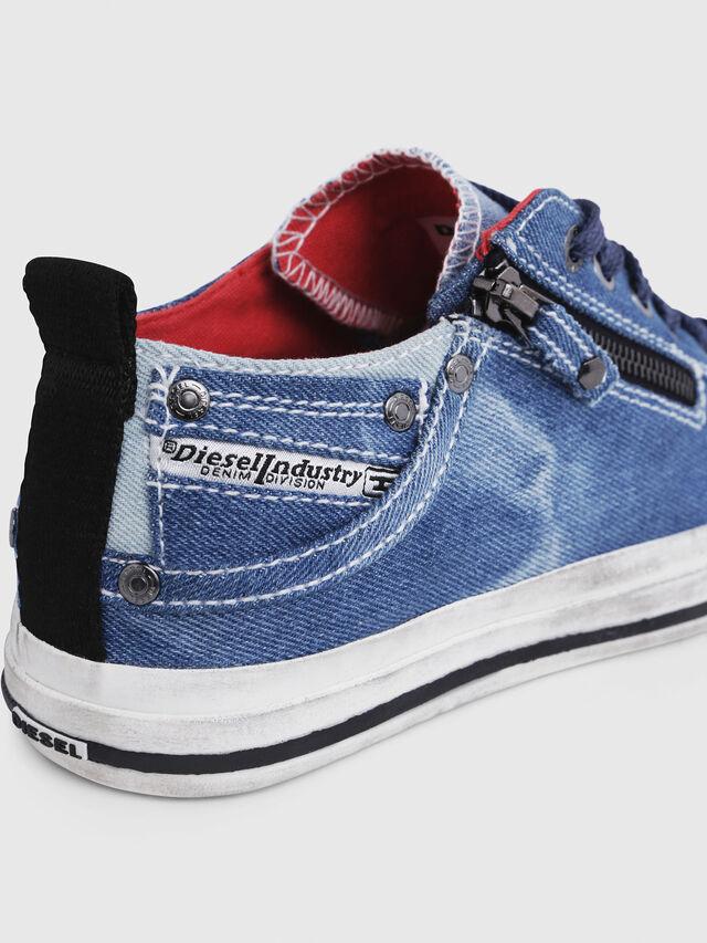 Diesel - EXPO-ZIP LOW W, Blu Jeans - Sneakers - Image 5