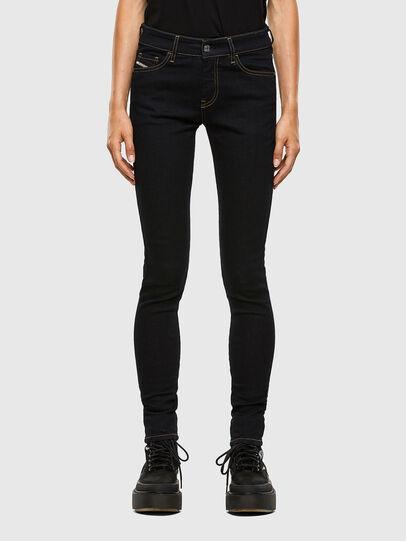 Diesel - Slandy 009CW, Blu Scuro - Jeans - Image 1