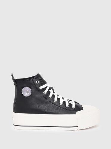 Sneaker alte con plateau