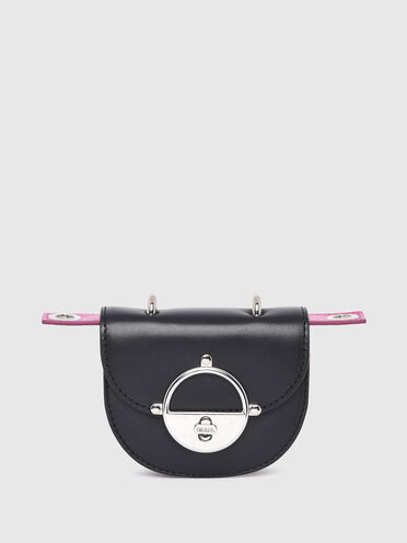 Saddle mini borsa in nappa