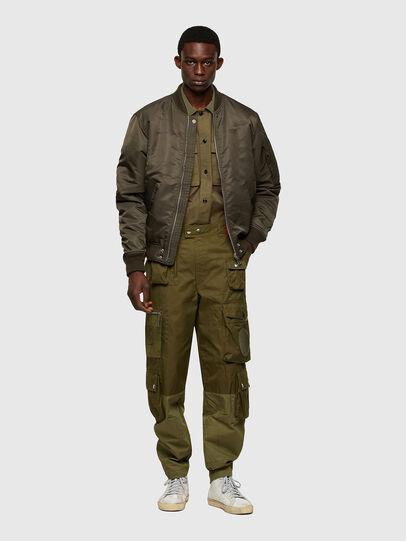 Diesel - P-CYAN, Verde Militare - Pantaloni - Image 6