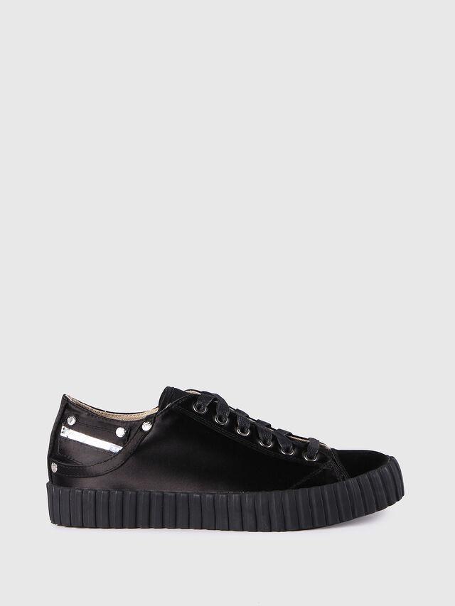 Diesel - S-EXPOSURE CLC W, Nero - Sneakers - Image 1