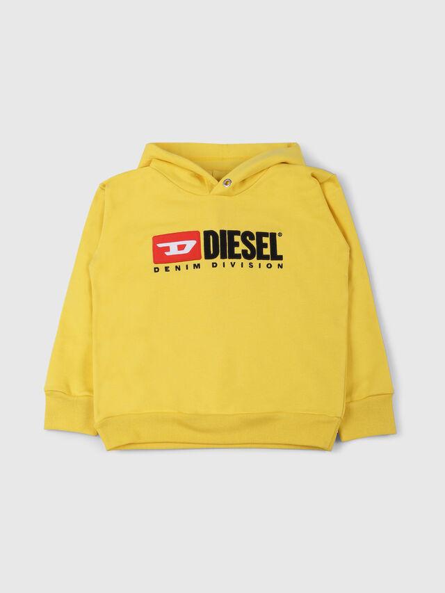 Diesel - SDIVISION OVER, Giallo - Felpe - Image 1