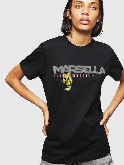 Diesel - LCP-T-DIEGO-MARSELLA, Nero - T-Shirts - Image 2