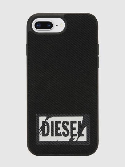 Diesel - BLACK DENIM IPHONE 8 PLUS/7 PLUS/6S PLUS/6 PLUS CASE,  - Cover - Image 2