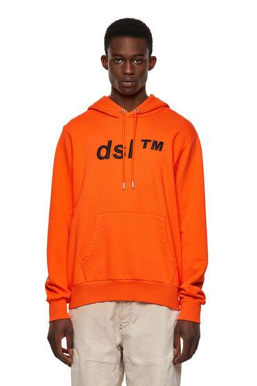 Felpa Green Label con cappuccio e logo DSL™