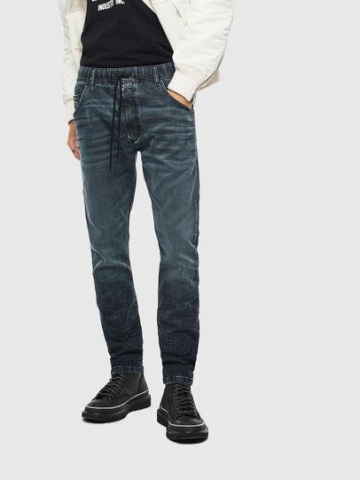 Diesel - Krooley JoggJeans 069MD, Blu Scuro - Jeans - Image 1