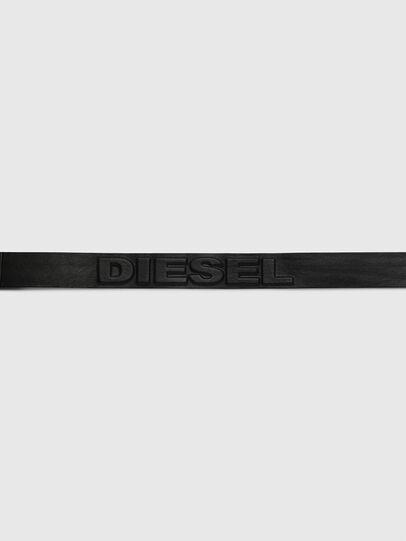 Diesel - B-RING, Nero - Cinture - Image 4