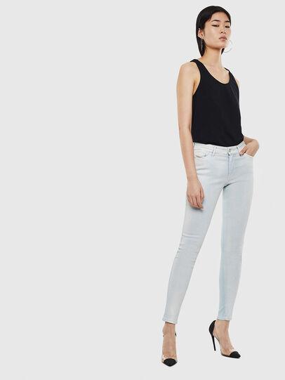 Diesel - Slandy 0099W, Blu Chiaro - Jeans - Image 5