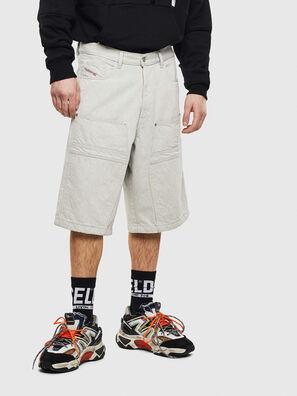 D-RON, Bianco - Shorts