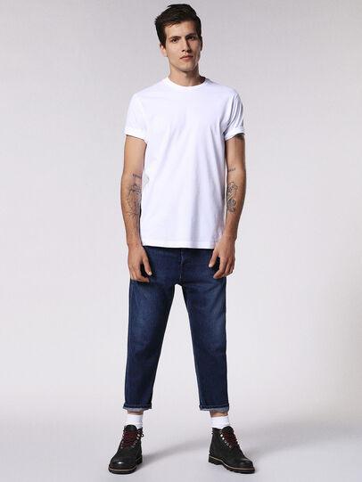 Diesel - T-DANIEL, Bianco - T-Shirts - Image 4