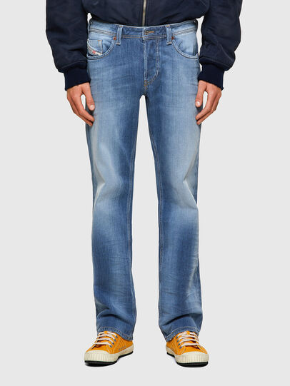 Diesel - Larkee 009NF, Blu Chiaro - Jeans - Image 1