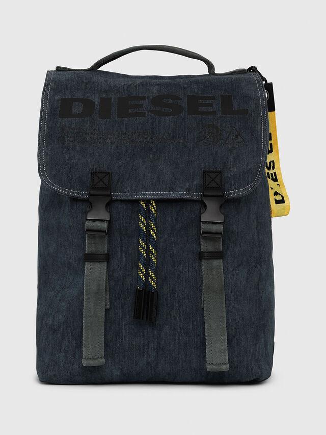 Diesel - VOLPAGO BACK, Blu Jeans - Zaini - Image 1