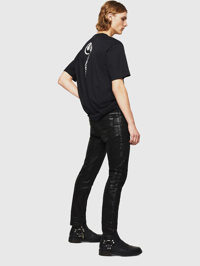 Diesel - TEORIALE-X1, Nero - T-Shirts - Image 5
