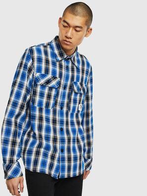 S-GERRY-CHECK, Blu/Nero - Camicie