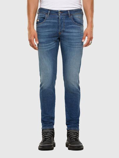 Diesel - D-Bazer 009DB, Blu medio - Jeans - Image 1
