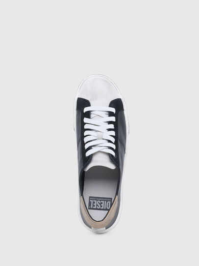 Diesel - S-MYDORI LC, Nero/Beige - Sneakers - Image 4