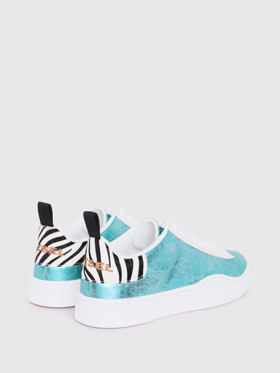 Diesel - S-CLEVER LOW LACE W, Azzurro - Sneakers - Image 3
