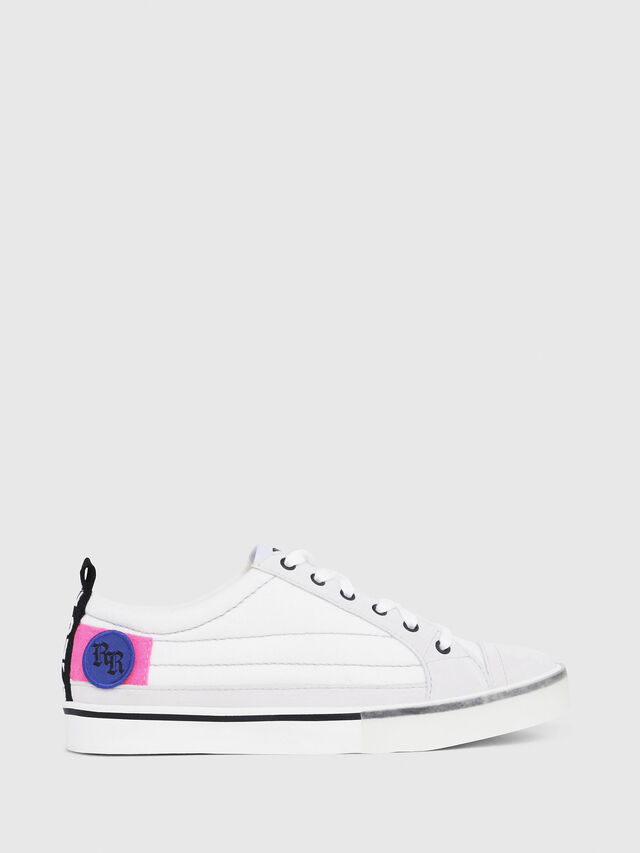 Diesel - D-VELOWS LOW PATCH W, Bianco - Sneakers - Image 1