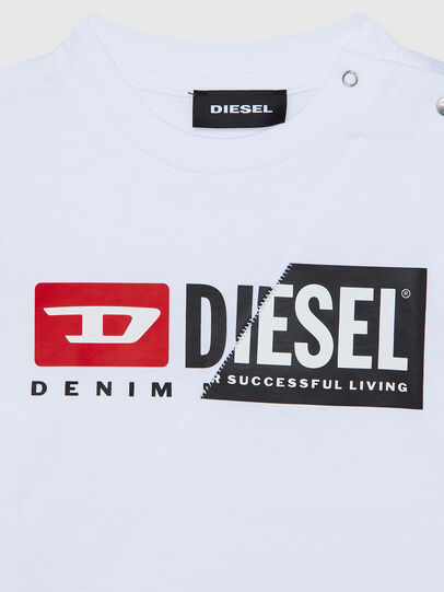 Diesel - TDIEGOCUTYB ML, Bianco - T-shirts e Tops - Image 3