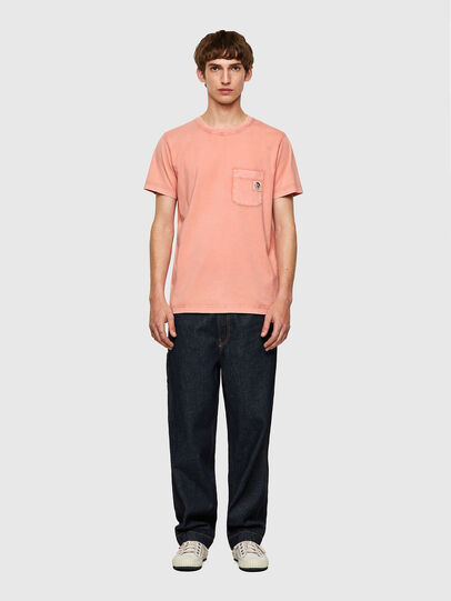 Diesel - T-WORKY-MOHI-B1, Rosa - T-Shirts - Image 4