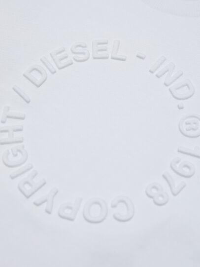 Diesel - SGIRKA70 OVER, Bianco - Felpe - Image 3