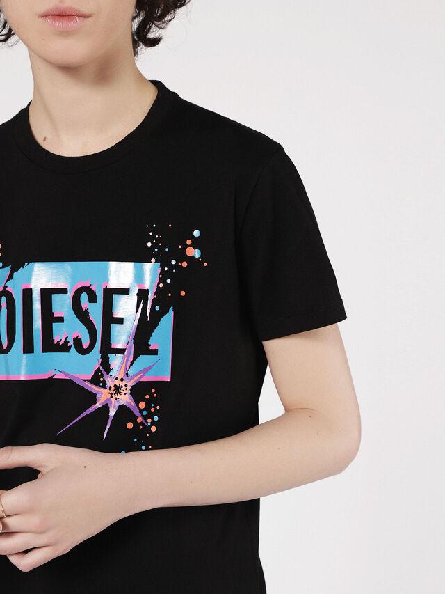 Diesel - T-EXPLO, Nero - T-Shirts - Image 3