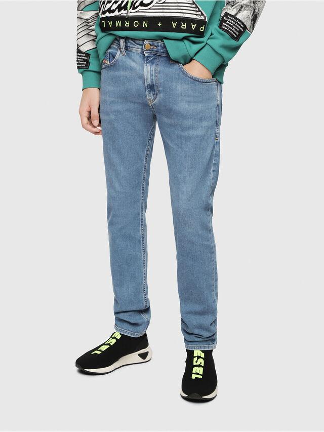 Diesel - Thommer 087AR, Blu Chiaro - Jeans - Image 1