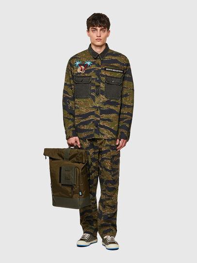 Diesel - S-BUNNELL-CMF, Verde Militare - Camicie - Image 5
