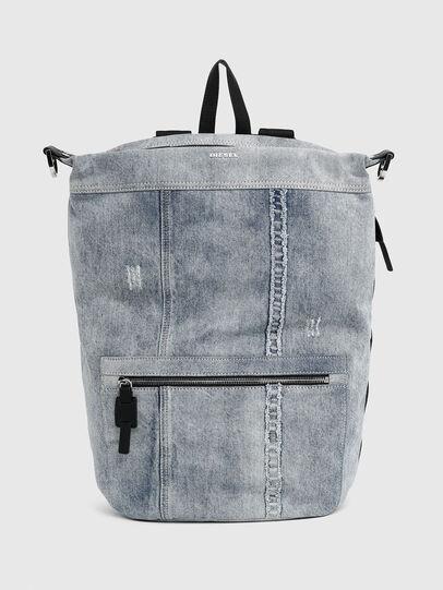 Diesel - SYLE, Grigio Jeans - Zaini - Image 1