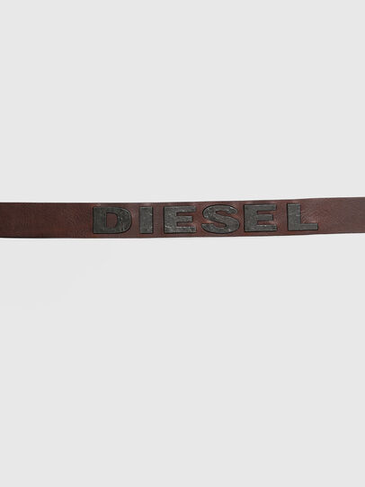 Diesel - B-BOLD, Marrone - Cinture - Image 4