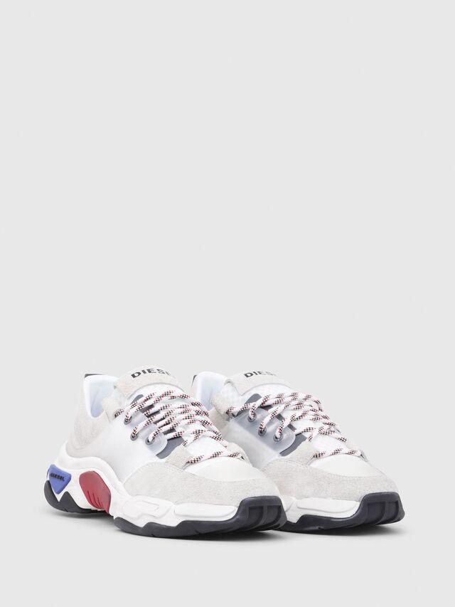 Diesel - S-KIPPER LOW LACE, Bianco - Sneakers - Image 2