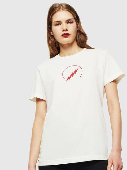Diesel - T-DIEGO-J5, Bianco - T-Shirts - Image 2