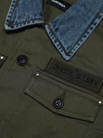 Diesel - COWALT, Verde Militare - Camicie - Image 3